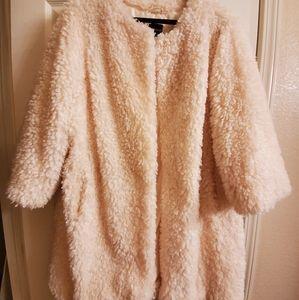Faux Sherpa Coat